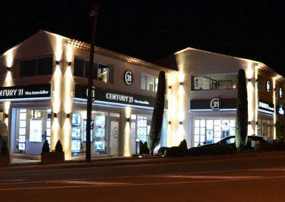 éclairage facade extérieure Roquefort-Les-Pins